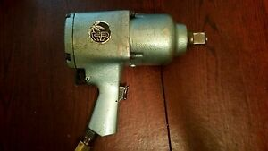 Vintage Florida Pneumatic 1 Impact Gun Fp799pa Made In Japan Excellent Cond