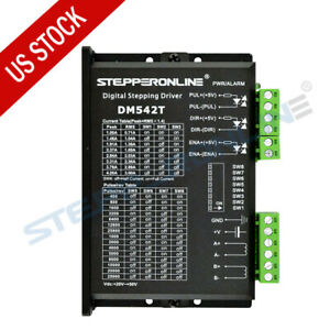 Us Ship Digital Stepper Motor Driver 1 0 4 2a 20 50vdc For Nema 17 23 24