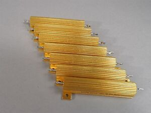 Mixed Lot Of 7 Pacific Power Resistor 70w New