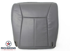 2001 Dodge Ram 1500 2500 3500 Work Truck Driver Bottom Vinyl Seat Cover Gray