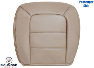 02 Ford Explorer Sport Trac Passenger Bottom Replacement Leather Seat Cover Tan