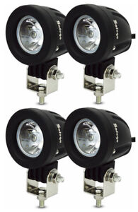 4x 10w Cree Led Work Light Spot Beam Offroad Driving Fog Lamp Motorcycle Boat
