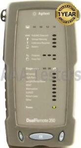 Agilent Dualremote 350 Cable Tester 4 Wirescope 350 Cat5e Cat6 Cable Certifier