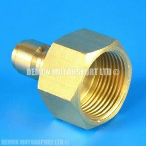 Pressure Washer Jet Wash M22 Female To 1 4 Quick Release Male Brass Adapter