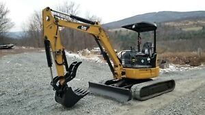 2015 Bobcat E32 Excavator Heat A c Hydraulic Thumb Nice Financing Available