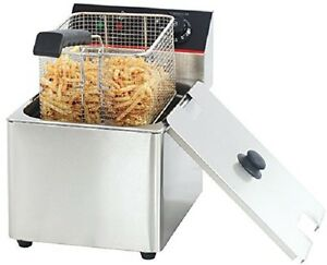 Hakka Commercial Stainless Steel 6l Deep Fryers Electric Professional Restaurant