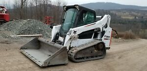 2015 Bobcat T590 Track Skid Steer Heat A c Selectable Pilot Controls Finance