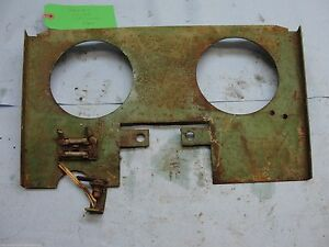 Oliver 550 2 44 Tractor Instrument Panel Reinforcement 101639a