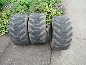 Used Bobcat Skid Steer Wheel Loader 10 Ply Gallaxy 31 5 X 13 0 X 16 5 Super Wide
