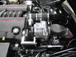 Chevy Vette C6 Ls2 05 07 Procharger P1sc1 Supercharger Ho Intercooled System Kit