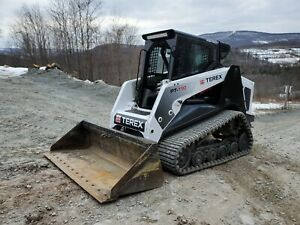 2015 Bobcat T870 Track Skid Steer Forestry Mulcher Low Hours Very Nice