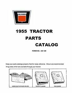 1955 Oliver Parts Catalog Reproduction