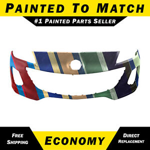 New Painted To Match Front Bumper Fascia For 2012 2013 Mazda 3 Sedan Hatchback