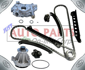 Timing Chain Kit Oil Pump genuine Original Water Pump For Ford F150 350 5 4l