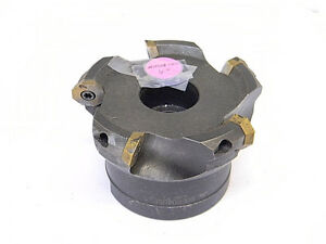 Used Mitsubishi Carbide Indexable 4 Face Mill B0er0405e remx 1705en
