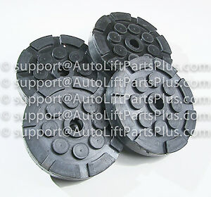 Round Rubber Arm Pads For Quality Lift Set Of 4 Free Shipping