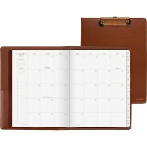 At a glance Signature Collection Clipfolio With Monthly Planner Yp60009