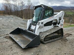 Bobcat T770 Track Skid Steer Forestry Mulcher Kubota Diesel We Finance