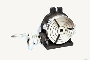 6 Rotary Table Horizontal Vertical Precision Quality With T Slot 16mm