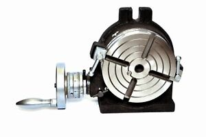 Rotary Table 6 4slot vertical Centre Height 105 Mm Also With Resettable Dial