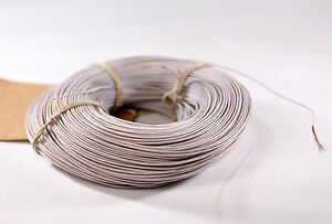150m 492ft 24 Awg 0 51mm Mil Spec Stranded Teflon Ptfe Copper Wire Mgtf 0 2