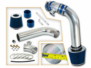 Blue Cold Air Induction Intake Kit Filter Bmw 92 98 E36 3 Series 328 328i 328is