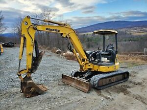 2008 Bobcat T320 Track Skid Steer High Flow Forestry Mulcher Ready 2 Work In Pa