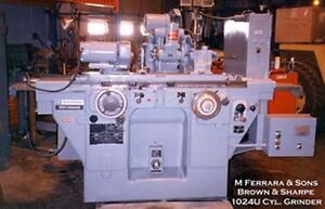 Brown Sharpe Cylindrical Universal Grinder inv 3097