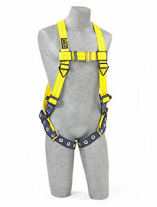Dbi sala Delta 1102008 Vest Style Harness Side And Back D rings Tongue Buckle