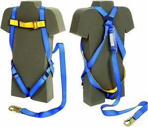 Ab17515 Dbi Protecta Harness And 6 Shock Absorbing Lanyard Combo Kit