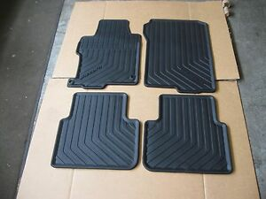 New Honda Oem All Season Floor Mats 4pc P N 08p13 T2a 110 Accord 4dr 13 17