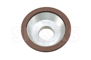 Shars 5 X 1 3 4 Type D11a2 Diamond Flaring Cup Wheel Grinding 100 Grit New