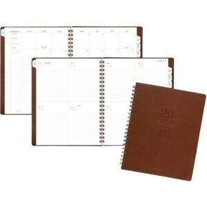 At a glance Signature Collection Weekly monthly Planner Gray Yp90509