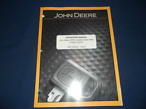 John Deere 350d 355d Crawler Dozer Loader Operation Maintenance Manual Book