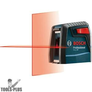 30 Self leveling Cross line Laser Bosch Tools Gll30 rt
