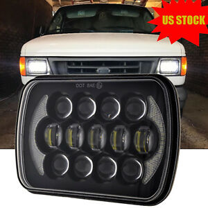 7x6 5x7 Osram 105w Led Light Bulb Halo Headlight For Jeep Yj Cherokee Xj Truck