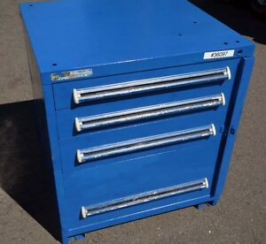 4 Drawer Vidmar Tooling Storage Cabinet inv 36097