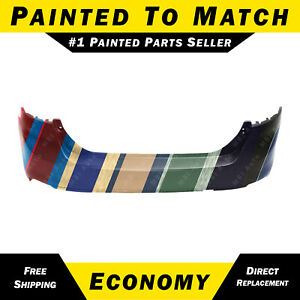 New Painted To Match Rear Bumper Cover For 2012 2013 2014 Ford Focus Sedan