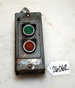 Allen Bradley Start stop Switch inv 26062