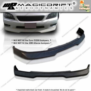 For 00 05 Lexus Is300 Jdm Grd Urethane Front Bumper Chin Lip Spoiler Body Kit