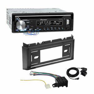 Pioneer Bluetooth Car Radio Dash Kit Harness For 85 90 Chevrolet Caprice Impala