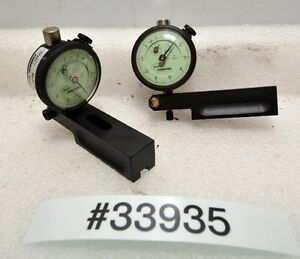1 Pair Of Mahr Federal Dial Indicators inv 33935