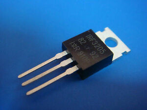 50p X Irf3205 Irf 3205 Power Mosfet 55v 110a 8mo New
