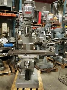 Bridgeport 2 Hp Variable Speed Milling Machine inv 35719