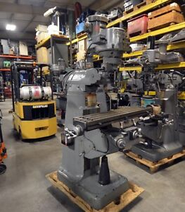 Bridgeport 2hp Variable Speed Milling Machine With 42 Inch Table inv 33222
