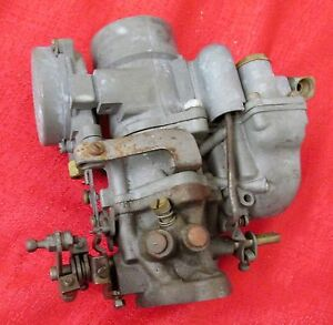Carter 1 Barrel Carburetor For Parts Only Works Free