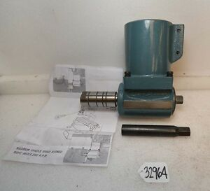 Gem Power Right Angle Attachment For Bridgeport Mill R8 inv 32964
