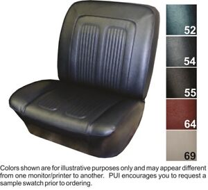 1964 Pontiac Grand Prix Parisienne Custom Sport Front Bucket Seat Covers Pui