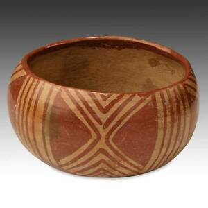 Pre Columbian Bowl Painted Pottery Chupicuaro Culture West Mexico 300 600 Ce