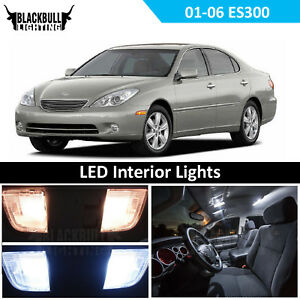 White Led Interior Light Replacement Kit For 2001 2006 Lexus Es300 Es330 7 Bulbs